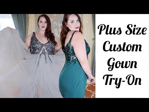 jj's-house-plus-size-custom-diva-gown-try-on