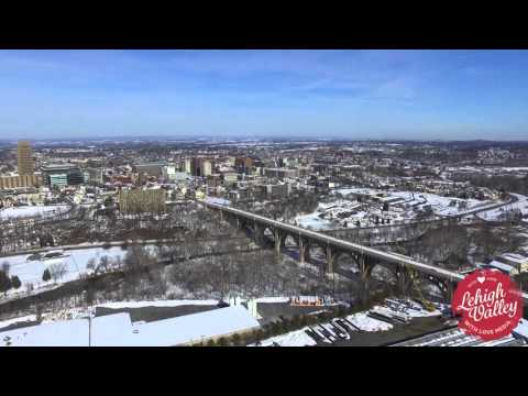 Allentown, Pennsylvania From the Sky