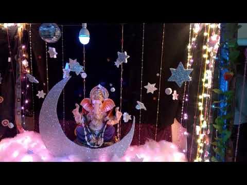 Ganpati Decoration 2017 in Home