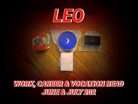 LEO: WORK, CAREER & VOCATION READ: STUDENT, LIBERATOR & DIVINE CHILD ARCHETYPES - JUNE & JULY 2021