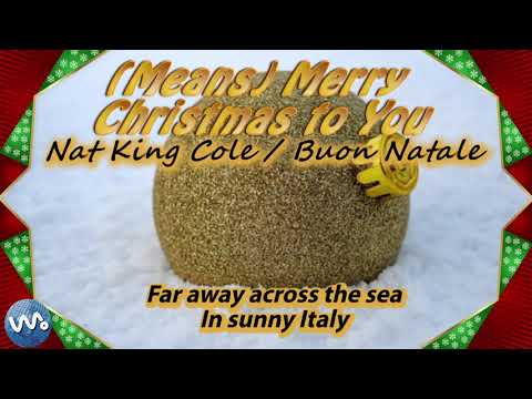 (Means) Merry Christmas to You - Nat King Cole / Buon Natale - (Lyrics)