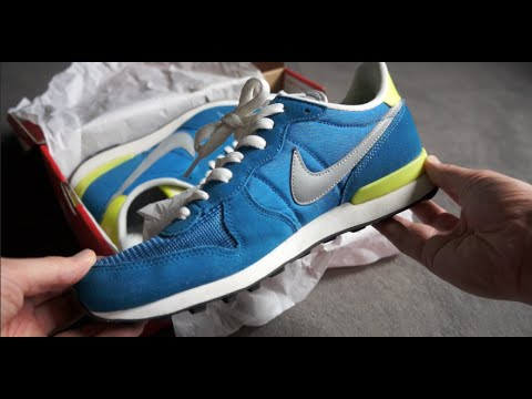 brand new 65d0c 4f0b0 NIKE Internationalist - Military Blue - unboxing   on feet review ...