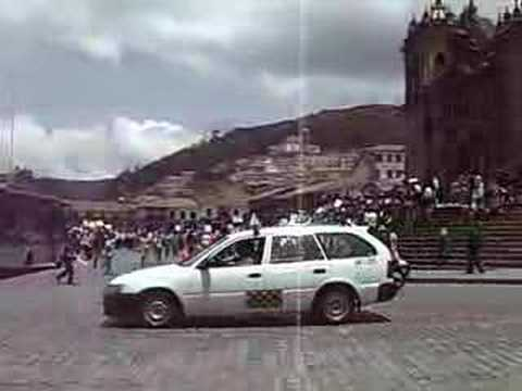 SA2007 - Cuzco Tourist Industry Protest
