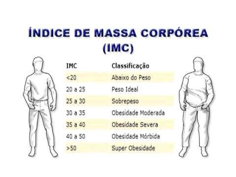 CÁLCULO DO ÍNDICE DE MASSA CORPORAL (IMC) AJUDA QUEM QUER PERDER PESO
