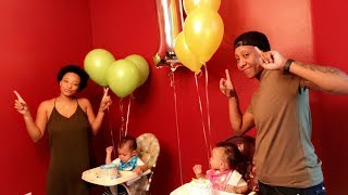 Jaxon & Kennedy's 1st BIRTHDAY | CHERIE AND KELS