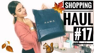 SHOPPING HAUL AUTUNNO 2018 ???? FALL SHOPPING + Try On