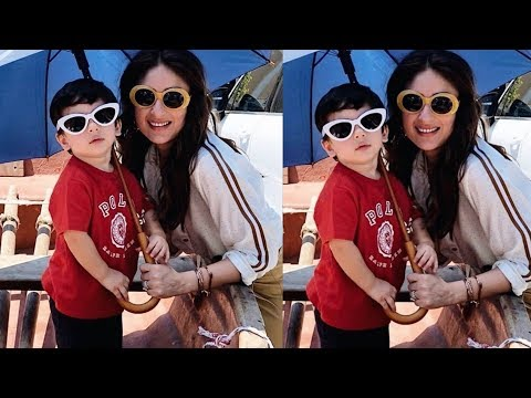 Taimur Ali Khan is all Swagy copy of mom Kareena Kapoor on his birthday celebrations in CapeTown