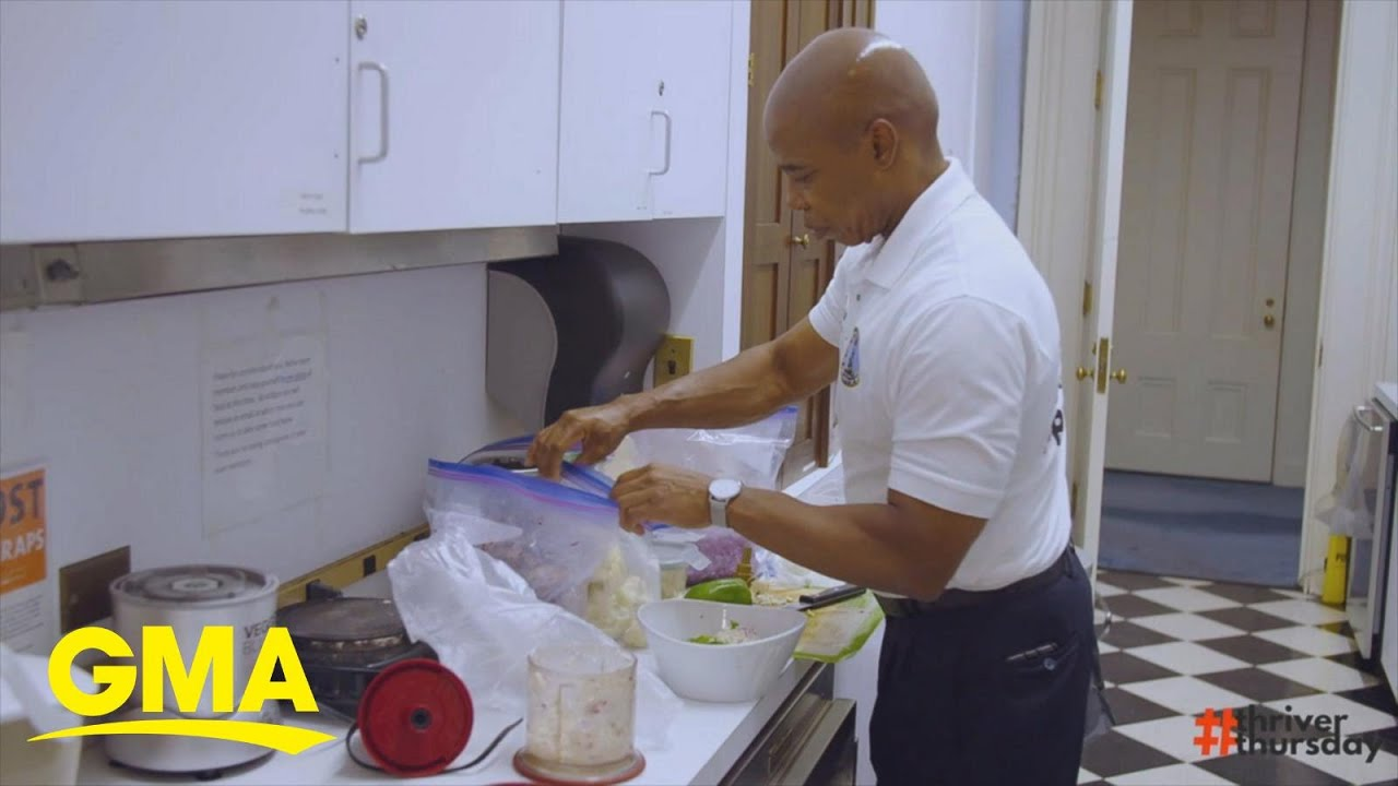 Brooklyn Borough President Eric Adams shares how a plant-based diet saved his life