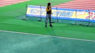 財前宣之「糸」@モンテディオ山形ファン感謝デー2009