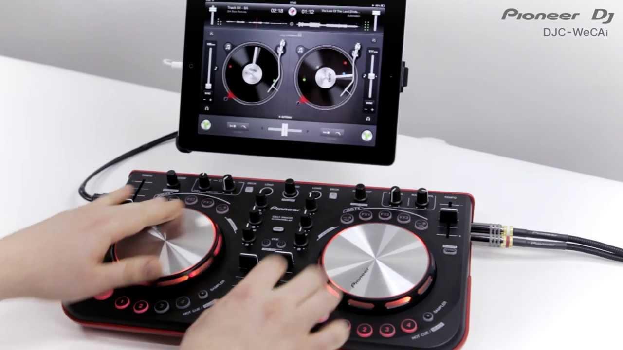 DJ Controller cable for connecting DDJ-WeGO/DDJ-ERGO to iPad