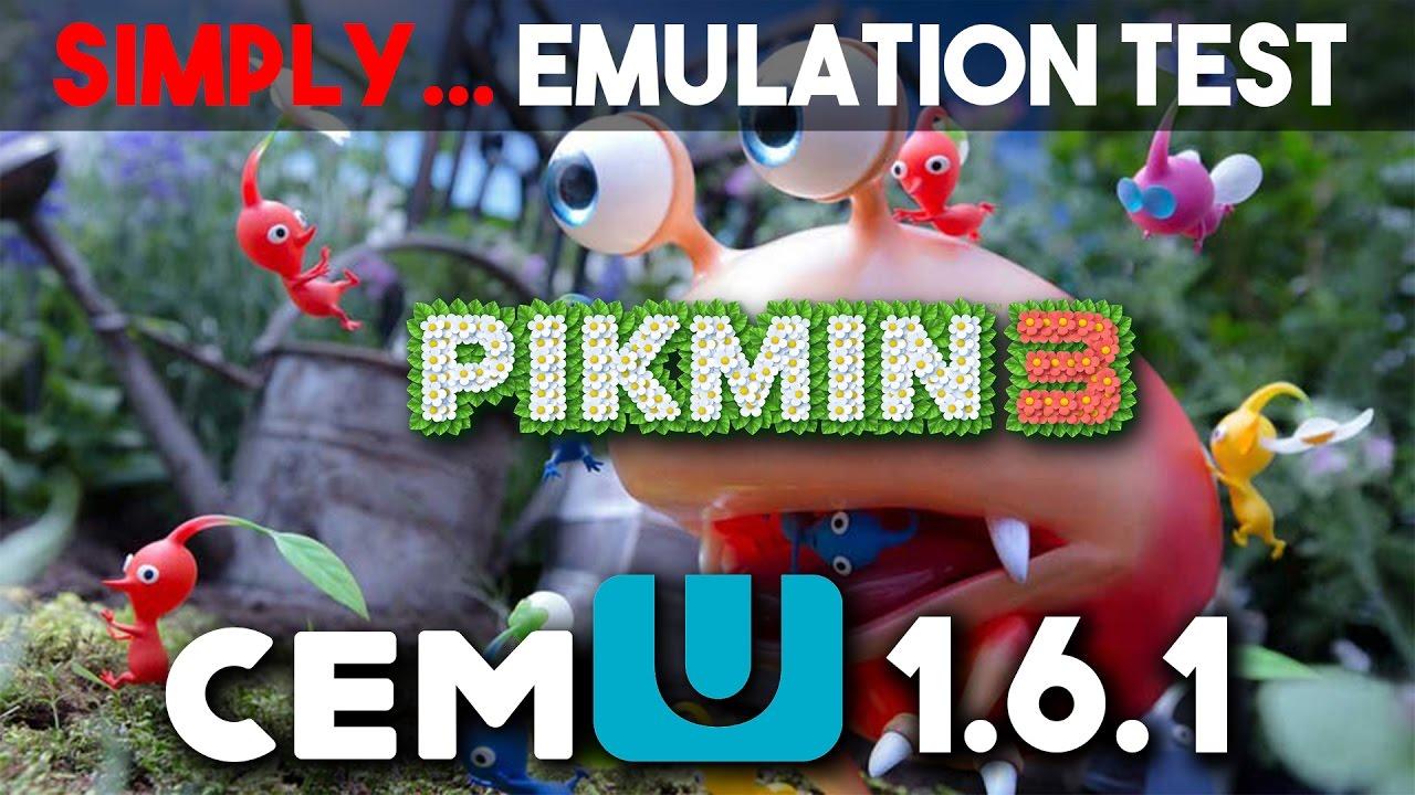 Pikmin 3 Wii U 1080p Cemu 1 6 1 Test Youtube