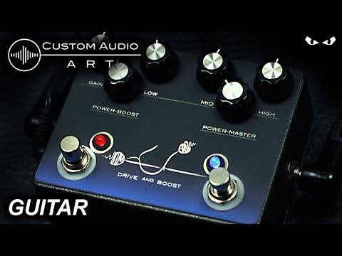 Custom Audio Art - Drive and Boost- GUITAR Demo