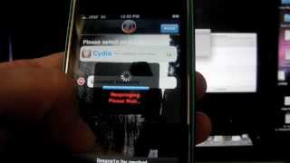 HOW TO Jailbreak Iphone 3G 3GS s 4.1 - 4.0  Ipod Iphone 4