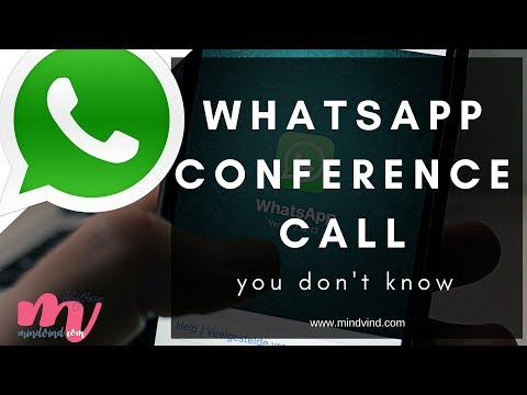 Whatsapp Conference Call - New Feature