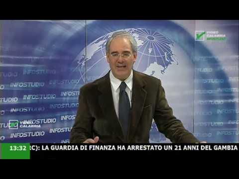 InfoStudio il telegiornale della Calabria notizie e approfondimenti - 14 Febbraio 2020 ore 13.30