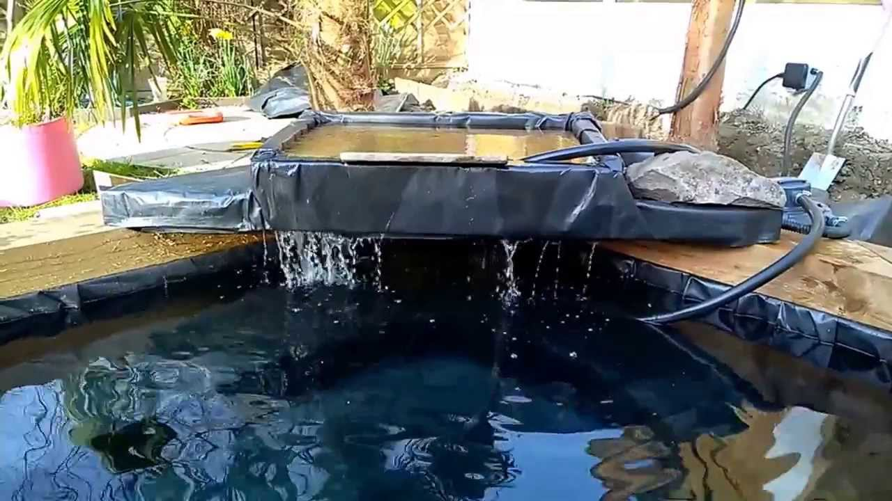 How To Do A Pond And Waterfall With Sleepers