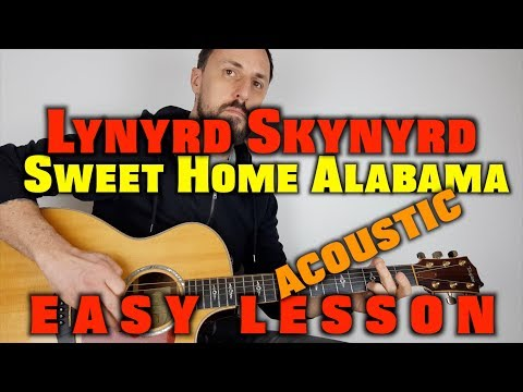 Sweet Home Alabama Acoustic Guitar Lesson