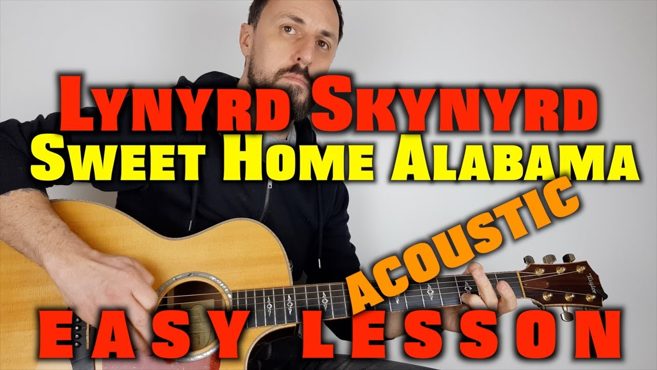 Today we'll look at the main solo from 'sweet home alabama' by lynyrd skynyrd.tuning: Sweet Home Alabama Acoustic Guitar Lesson Youtube