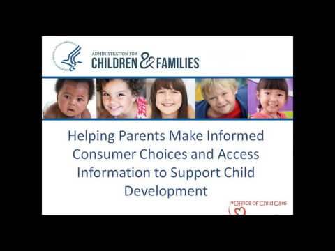 Child Care Quality and Consumer Education in the NPRM Webinar 1 20 2016