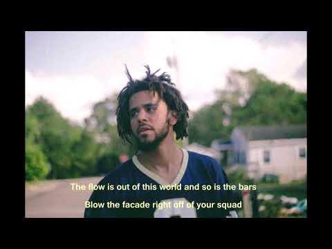 J Cole - Album Of The Year Freestyle (lyrics)