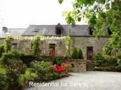 French Property For Sale in France:Guern, Brittany, Morbihan 56. 220,000€.