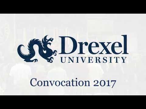 2017 Convocation of Drexel University