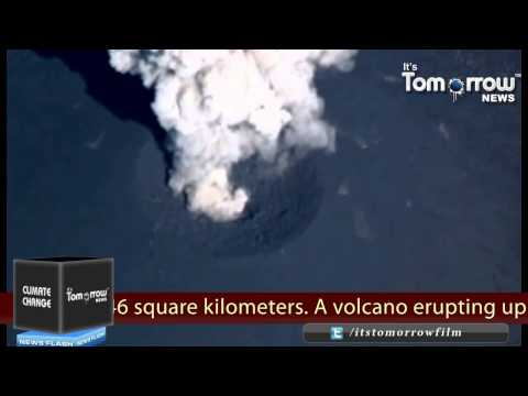 Volcano Forms New Island in Japan