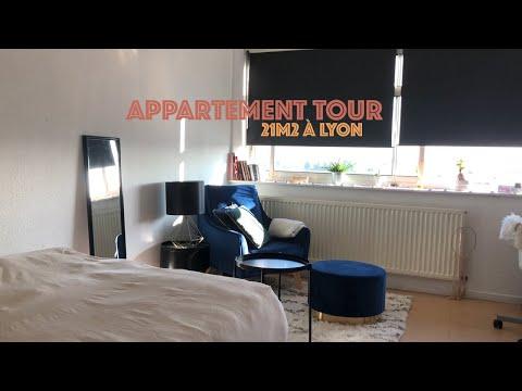 [ APPARTEMENT TOUR ] : Mon 21m2 à Lyon
