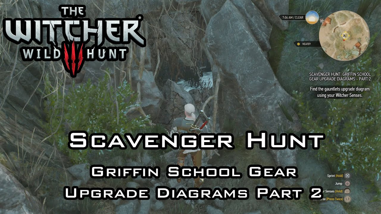 The Witcher 3: Wild Hunt - Scavenger Hunt: Griffin School Gear ...