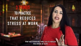 3 Useful Things to cope up with stress    Daily Tips   Marwa Abdelaziz