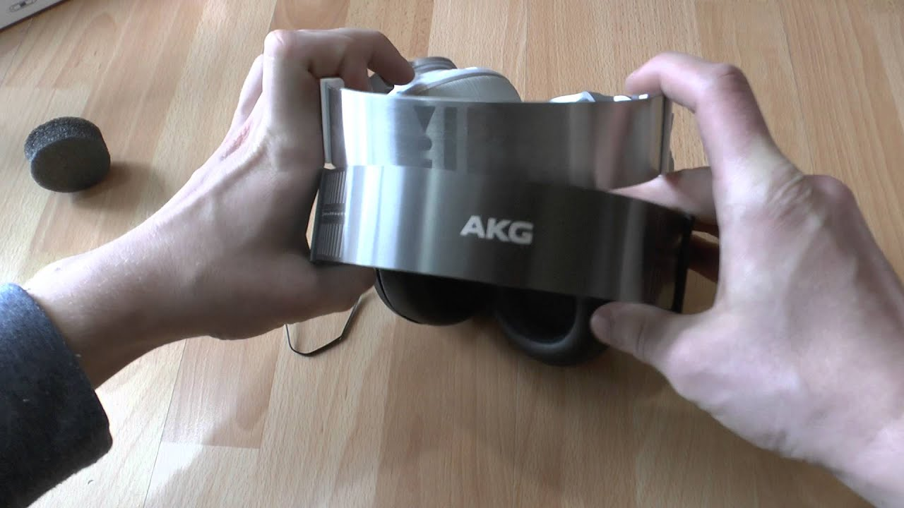 akg k845 bt kopfh rer mit bluetooth im hands on youtube. Black Bedroom Furniture Sets. Home Design Ideas