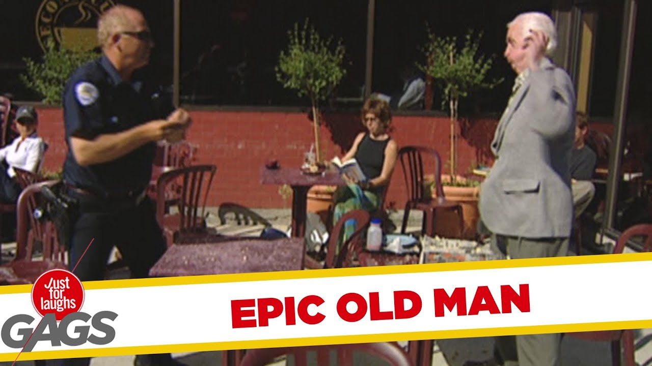 Epic Old Man –  Food Fight!