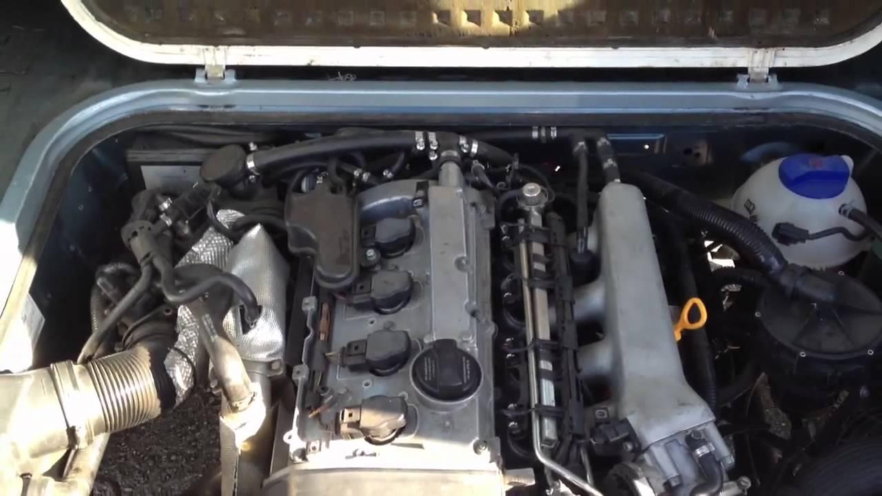 1 8t Vanagon Engine Running