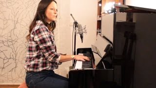Stevie Wonder - Master Blaster (Jammin) - piano vocal - Anna Heaven Cover