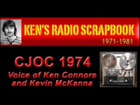 CJOC Radio Ken Connors and Kevin Mckenna Lethbridge Alberta - 1974 ARCHIVED RADIO