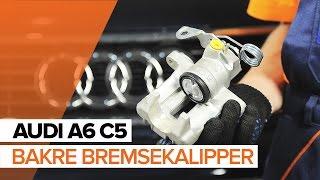 Hvordan bytte Baklys AUDI A6 Avant (4B5, C5) - bruksanvisning