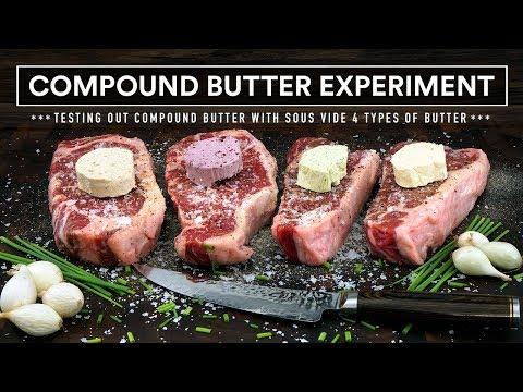 Sous Vide COMPOUND BUTTER Experiment