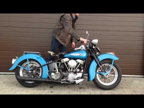 Harley Davidson 1948 year Panhead