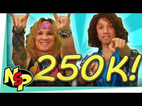 250K Subscribers!!! (w/ Steel Panther)