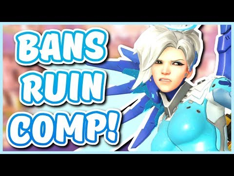 Overwatch - WHY HERO BANS ARE RUINING COMPETITIVE