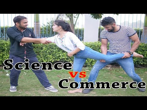 College Life | Science VS Commerce | Idiotic Launda Ft Rahul Sehrawat |