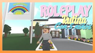 👫 Roleplay - Teacher Routine 🙎 ♀️ Bloxburg (ROBLOX)📕 *Caring for TRAVISES* ✏