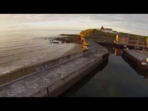 A Trip Round Burghead Harbour