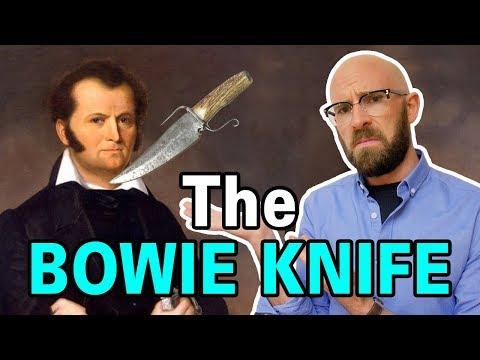 The Fascinating Story Of How The Bowie Knife Got Its Name