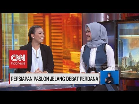 Persiapan Paslon Jelang Debat Perdana Pilpres 2019 Bersama Tina Talisa & Rahayu Saraswati
