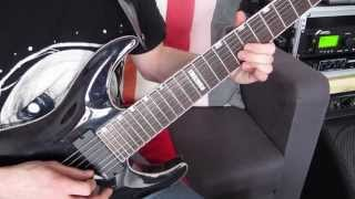 Dream Theater - Octavarium Guitar Solo Cover