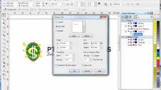 Membuat Pattern di Corel Draw, Tutorial Corel Draw, Tips and Trick, Mastering Corel Draw