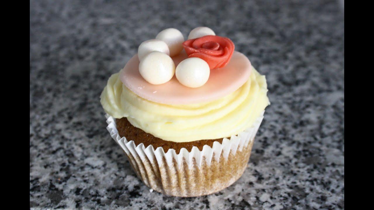 dcoration cupcake rose et perles - Cupcake Colorant Alimentaire