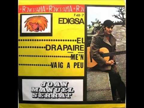 Joan Manuel Serrat - El Drapaire - SG 1968 (Promo)