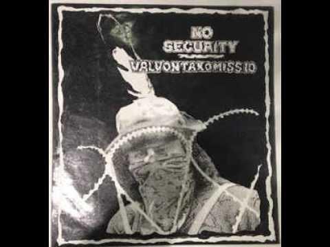 No Security / Valvontakomissio (Full Split LP)